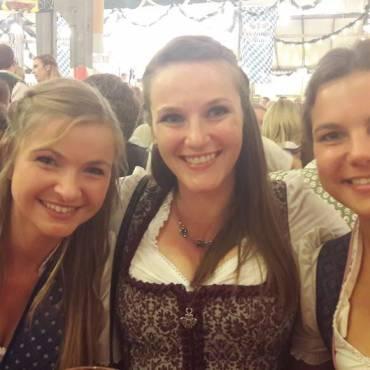 Karina Posch, Christine Schlaipfer und Julia Brüchmann