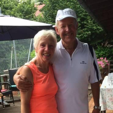 Maria Hohmann und Peter Mentz